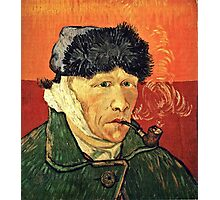 Vincent Van Gogh - Self Portrait With Bandaged Ear  Photographic Print
