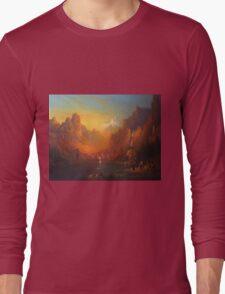 The Gates At The Lake. Long Sleeve T-Shirt