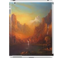 The Gates At The Lake. iPad Case/Skin