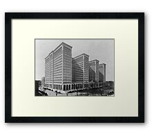 General Motors Building - Detroit, Michigan, 1921 Framed Print