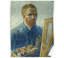 Vincent Van Gogh - Self-Portrait As A Painter 1988 Poster