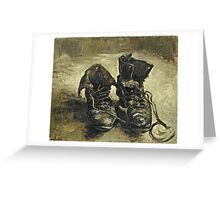 Vincent Van Gogh - Shoes 1887  Greeting Card