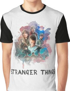 Stranger Things - Canvas Graphic T-Shirt