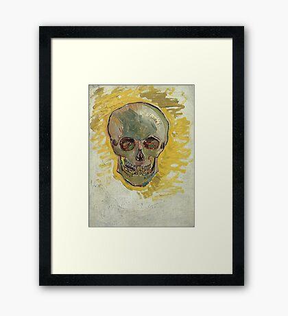 Vincent Van Gogh - Skull  Framed Print
