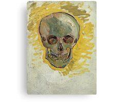 Vincent Van Gogh - Skull  Canvas Print