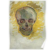Vincent Van Gogh - Skull  Poster