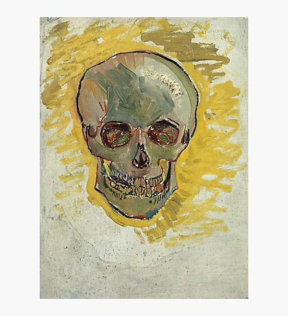 Vincent Van Gogh - Skull  Photographic Print