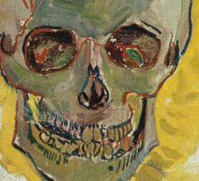 Vincent Van Gogh - Skull  Sticker