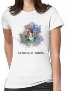 Stranger Things - Canvas Womens Fitted T-Shirt