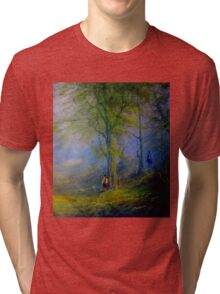 Encounter In The woods Tri-blend T-Shirt