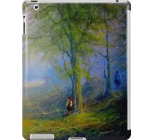 Encounter In The woods iPad Case/Skin