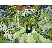 Vincent Van Gogh - Stairway At Auvers 1890 Photographic Print