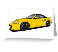 Porsche 911 Turbo Greeting Card