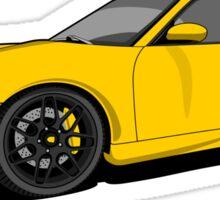 Porsche 911 Turbo Sticker
