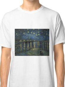 Vincent Van Gogh - Starry Night, 1888  Classic T-Shirt