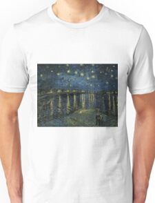 Vincent Van Gogh - Starry Night, 1888  Unisex T-Shirt