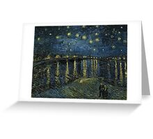 Vincent Van Gogh - Starry Night, 1888  Greeting Card