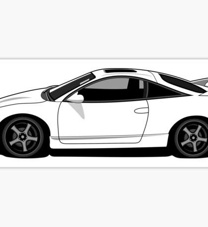 2nd Gen Mitsubishi Eclipse Sticker