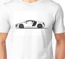 Audi R8 Vector Design Sticker Shirt Poster Unisex T-Shirt