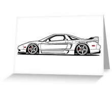 Acura Nsx Greeting Card