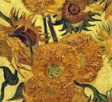 Vincent Van Gogh - Sunflowers 1888  Sticker