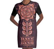 DAVE MATTEWS BAND SUMMER TOUR 2016 - POSTER art HQ. Graphic T-Shirt Dress