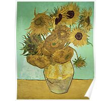 Vincent Van Gogh - Sunflowers 1888 Poster