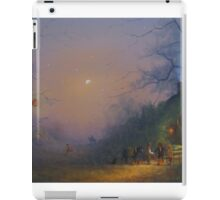 The Pumpkin Seller (Halloween). iPad Case/Skin