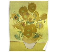 Vincent Van Gogh - Sunflowers 1989 Poster