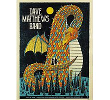 DAVE MATTEWS BAND SUMMER TOUR 2016 - POSTER - SARATOGA SPRINGS, NY Photographic Print