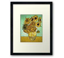 Vincent Van Gogh - Sunflowers 2 1888  Framed Print