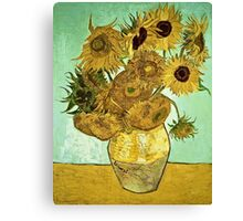 Vincent Van Gogh - Sunflowers 2 1888  Canvas Print