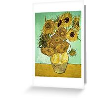 Vincent Van Gogh - Sunflowers 2 1888  Greeting Card