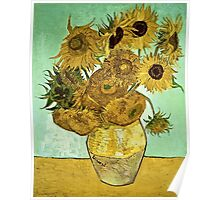 Vincent Van Gogh - Sunflowers 2 1888  Poster