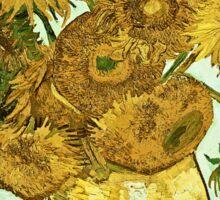 Vincent Van Gogh - Sunflowers 2 1888  Sticker