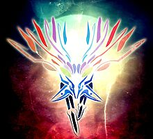 Tribal Xerneas by Kaegro