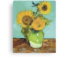 Vincent Van Gogh - Sunflowers, 1888 Canvas Print
