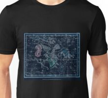 Alexander Jamieson A Celestial Atlas 1822 Plate 10 Astronomy Constellations Inverted Unisex T-Shirt