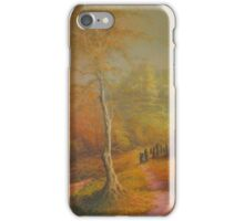 The Golden Woods. iPhone Case/Skin