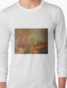 The Golden Woods. Long Sleeve T-Shirt
