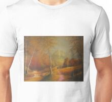 The Golden Woods. Unisex T-Shirt