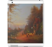 Departing The Inn.  iPad Case/Skin