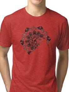 flower eagle eyes Tri-blend T-Shirt