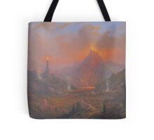The Lands Of Shadow Tote Bag