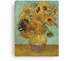 Vincent Van Gogh - Sunflowers, 1889 Canvas Print