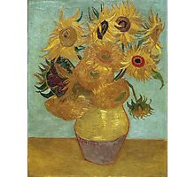 Vincent Van Gogh - Sunflowers, 1889 Photographic Print