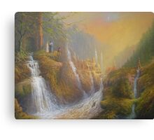 The Wisdom Of The Elves Canvas Print