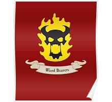 Word Bearers - Warhammer Poster