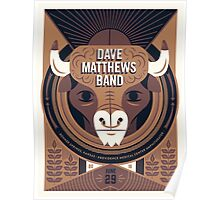 DAVE MATTEWS BAND SUMMER TOUR 2016 - BONNER SPRINGS, KANSAS Poster