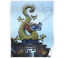 Chinese Dragon Penang Malaysia Poster